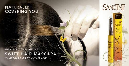 Sanotint swift haarmascara voor mannen en vrouwen for Cosval sanotint
